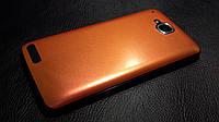 Декоративная защитная пленка для Alcatel One Touch Scribe HD 8008D  оранж хамелион, фото 1