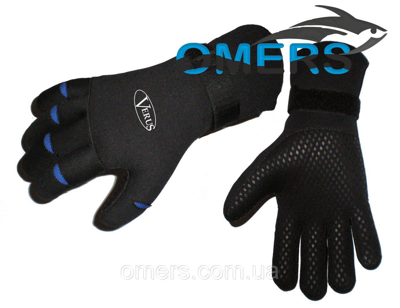 Перчатки Verus с фиксатором на манжете 3мм