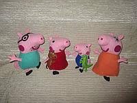 Мягкие игрушки свинка Пеппа и её семья, друзья Пеппы, ручная работа!