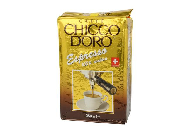 Кофе молотый Chicco d'Oro Espresso 250 г