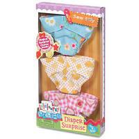 Набор Многоразовых Подгузников для Куклы Lalaloopsy Babies MGA 530466