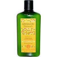 Шампунь для блеска волос Подсолнечник Цитрус Andalou Naturals,340 мл