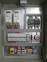 Автоматика приточно-вытяжных систем вентиляции с электрическим нагревателем и роторным рекуператором