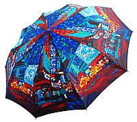 Женский зонт Zest Мотивы ночного города (полный автомат, 10 спиц ) арт.23966-3
