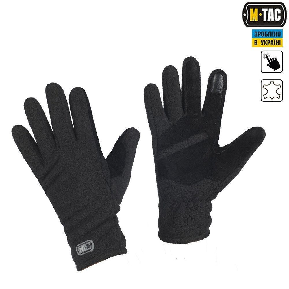 M-Tac перчатки Winter Tactical Windblock 380 Black