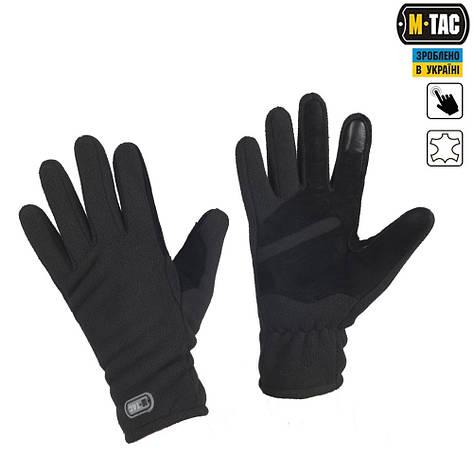 M-Tac перчатки Winter Tactical Windblock 380 Black, фото 2