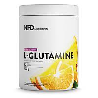 Глютамин PREMIUM GLUTAMINE 500 г с вкусовыми добавками