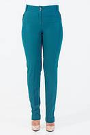 Батальные классические женские брюки из качественного материала