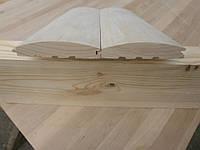 Блок-хаус липа 105*22 мм. первый сорт