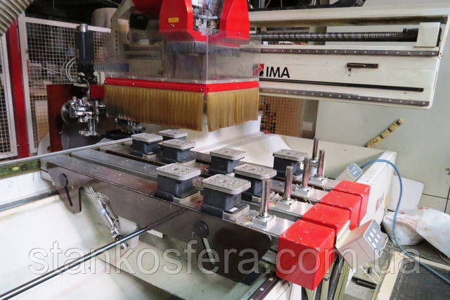 Обрабатывающий центр BIMA 610 опорные шины на консолях
