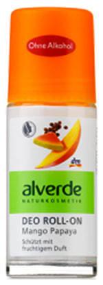 Шариковый дезодорант манго и папайя Alverde 50мл стекло, фото 2