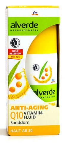 Антивозрастной витаминизирующий флюид 30+ с ягодами годжи 3 в 1 Alverde 30мл