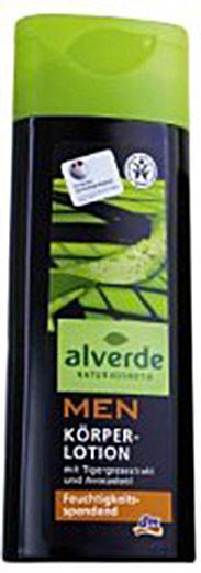 Лосьон для тела мужской Alverde 250мл