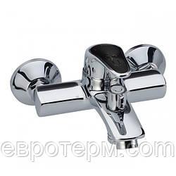 Смеситель для ванны короткий гусак с евро переключением Haiba Magic 009 Black