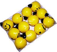 """Мячик на резинке """"Смайлик"""" (йо-йо)"""