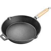Сковорода чугунная lamart lt1070 без крышки 25,5 см