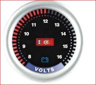 Тюнинговый автомобильный прибор Ket Gauge LED 9901 вольтметр