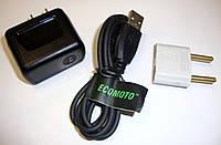 Зарядное устройство сетевое micro-USB Motorola (адаптер+кабель)