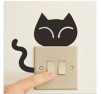 Прикольные наклейки  на стену , включатель, выключатель, розетку (037)