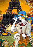 "Пазлы Castorland C-103591 ""Улица Парижа"" на 1000 элементов (C-103591), фото 2"