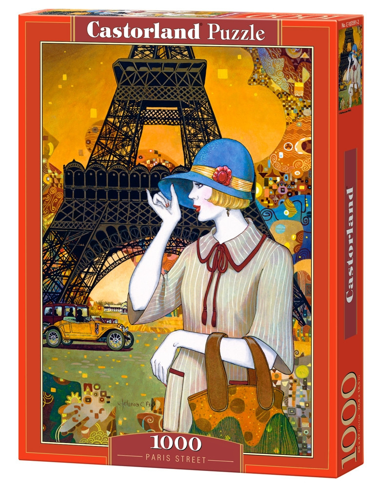 "Пазлы Castorland C-103591 ""Улица Парижа"" на 1000 элементов (C-103591)"