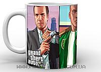 Кружка ГТА GTA персонажи