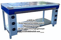 Электрическая Промышленная плита ЭПП-6,  (12 кВт или 18 кВт), 6 (шести) конфорочная, напольная