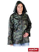Куртка дождевик камуфляжная