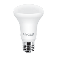 LED лампа MAXUS R63 7W 3000K 220V E27 (1-LED-555)