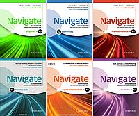 Комплект Navigate підручник та робоий зошит (Student's Book + Workbook).