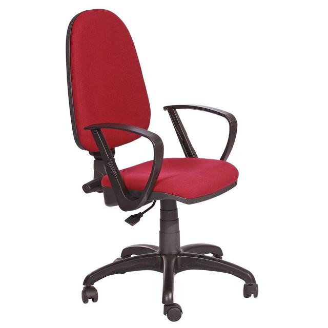Кресло Престиж Люкс/New AMF-7 Розана-108 красный. Размеры 65х65х100-119h.