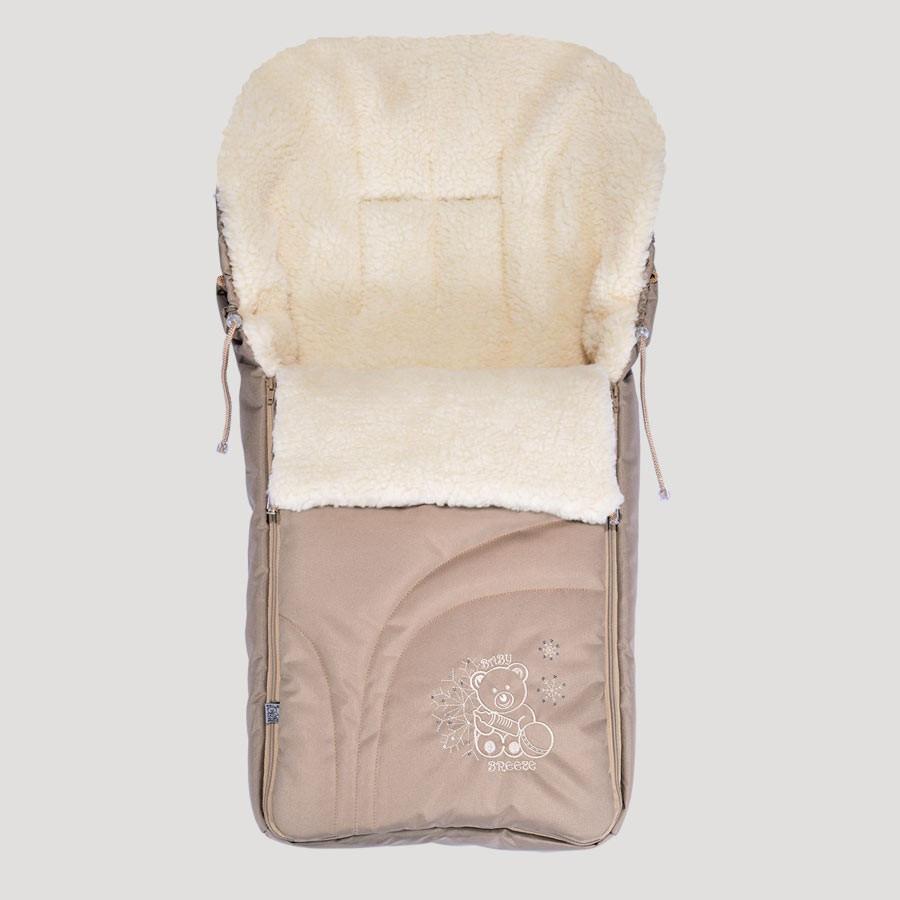 Теплый конверт в коляску 0304 (в ассортименте), Baby Breeze