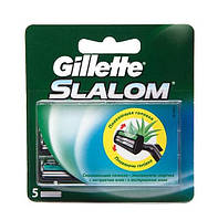 Сменные кассеты для бритья Gillette Slalom Plus (5 шт.)
