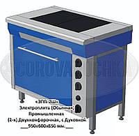 Электрическая плита Профессиональная ЭПК-2ШБ, с Духовкой (8,2 кВт или 10,2 кВт), 2 (двух)конфорочная,