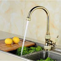 Смеситель кран на кухню для мойки раковины одно рычажный, фото 1