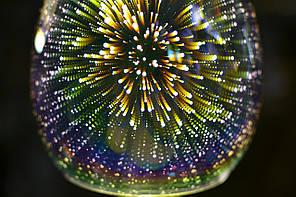 Люстра, 3Д, 1 лампа, подвесная, фото 2