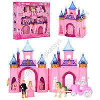 Замок Принцессы, с фигурками, каретой (ОПТОМ) CB688-5