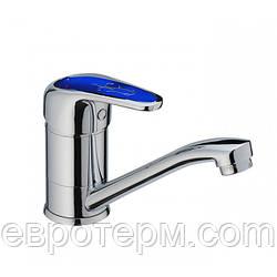 Смесители для кухни Haiba Magic 004 Blue 15 см крепление шпилька