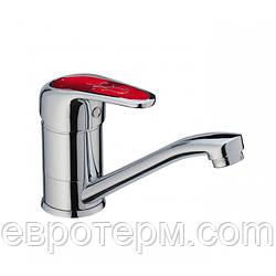 Смесители для кухни Haiba Magic 004 Red 15 см крепление шпилька