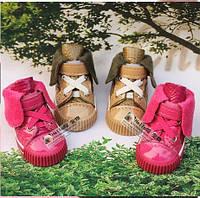 Утепленные кеды для собак. Обувь для собак.