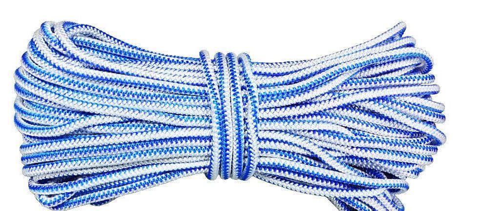 Шнур полипропиленовый твердый 7мм 100м