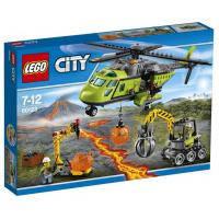 Конструктор LEGO City Underwater Грузовой вертолёт исследователей вулканов (60123)