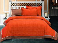 Покрывало хлопок с наволочками Halley - Oranj оранжевый 230*260