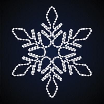 Праздничное украшение Снежинка светодиодная SN-1.1x0.96