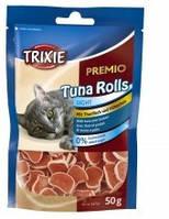 Роллы для котов Trixie - Premio Tuna Rolls (тунец+курица) 50гр