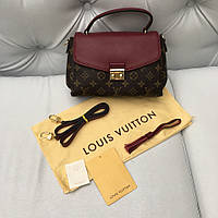 Сумка LV Louis Vuitton Croisette MM марсала