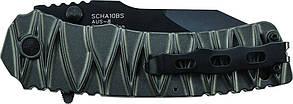 Нож для выживания Schrade - M.A.G.I.C. Dual Action - Serrated Clip Point - SCHA10BS, фото 2