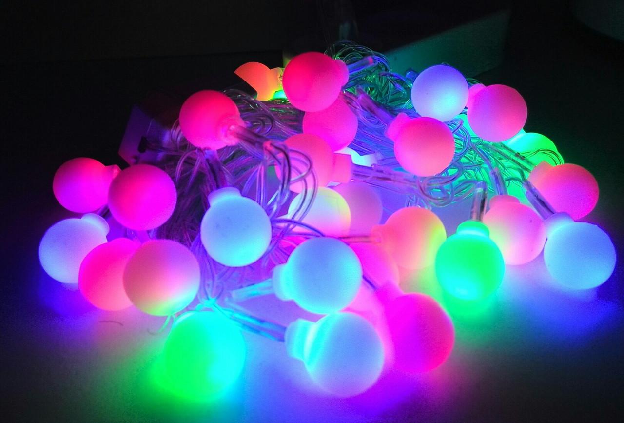 Гирлянда светодиодная шарики (LED) 30 л