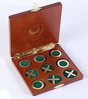 """Игра """"крестики-нолики"""" в деревянной коробке"""