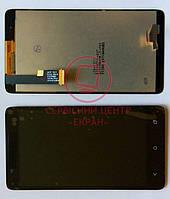 HTC Desire 400 дисплей + сенсор оригінальний тачскрін
